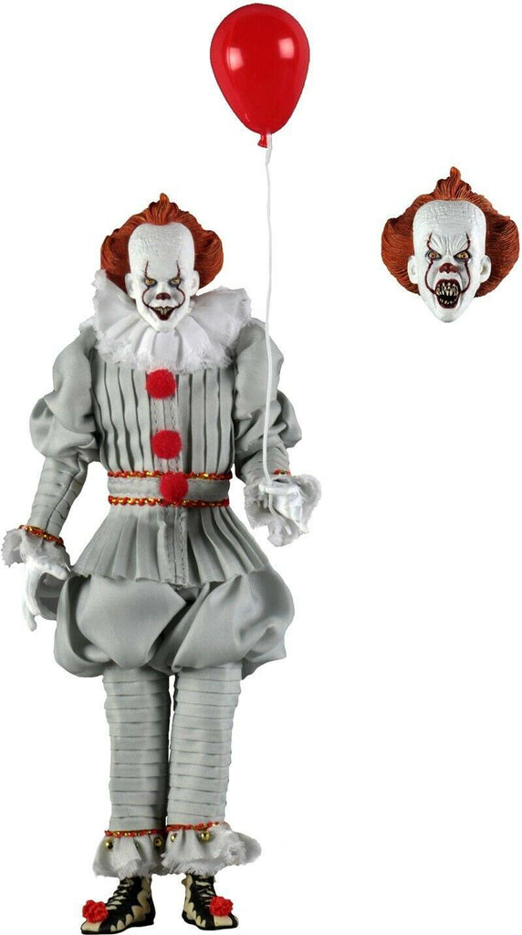 2017 IT Pennywise 8-inch Clothed Action Figure