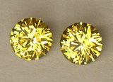1.26ct Mail / Grossular Garnet Pair