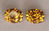 2.03ct Mali / Grossular Garnet Pair