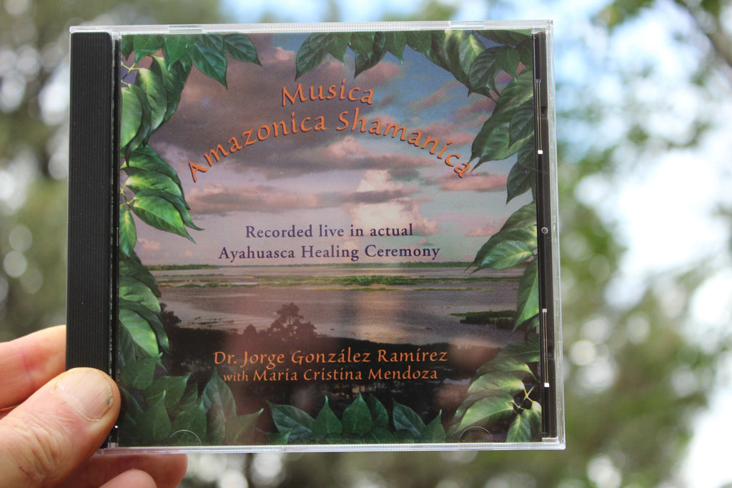 AYAHUASCA HEALING CEREMONY CD - Musica Amazonica Shamanica -  Beautiful & Recommended  You Get (3) Copies - They Make Lovely Gifts!