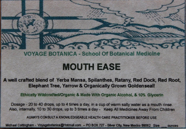 MOUTH-EASE FORMULA EXTRACT    4 ounce size
