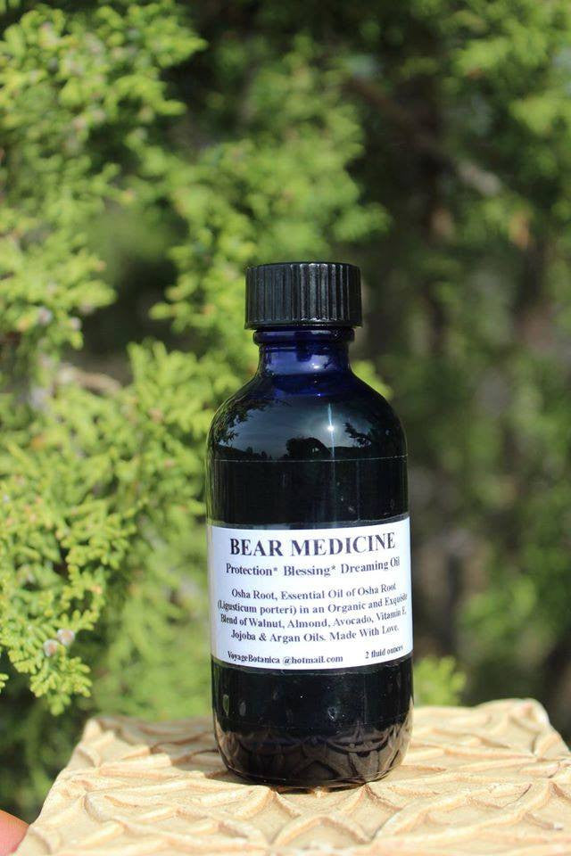 BEAR MEDICINE OIL - Osha Essential Oil Blend