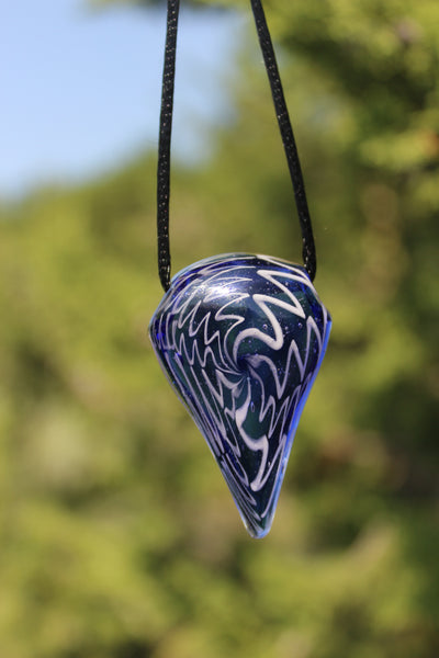 HAND BLOWN GLASS - Superb Pendant