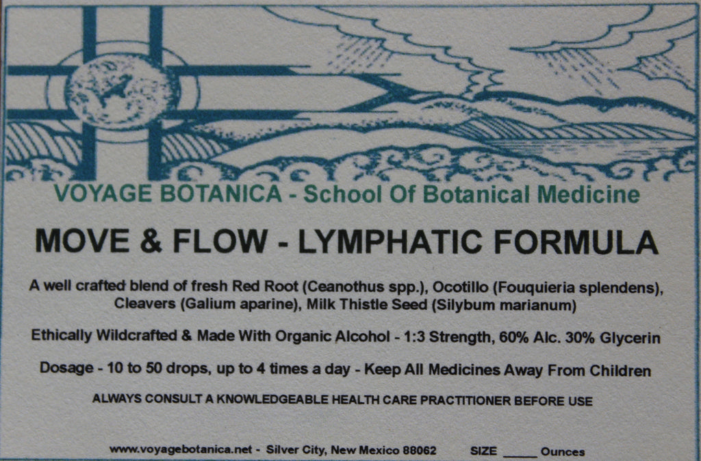 MOVE & FLOW - LYMPHATIC FORMULA - 4 Ounce Size