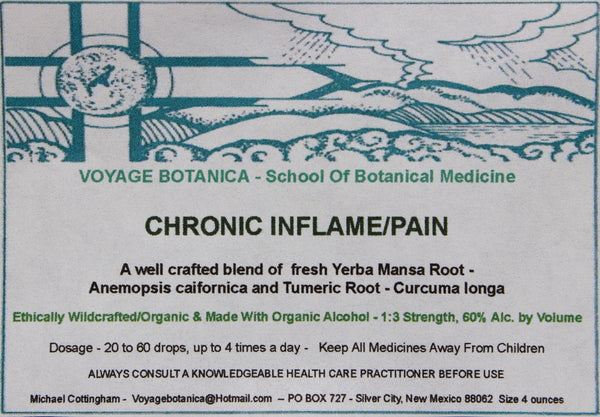 CHRONIC INFLAME/PAIN FORMULA EXTRACT    4 ounce size