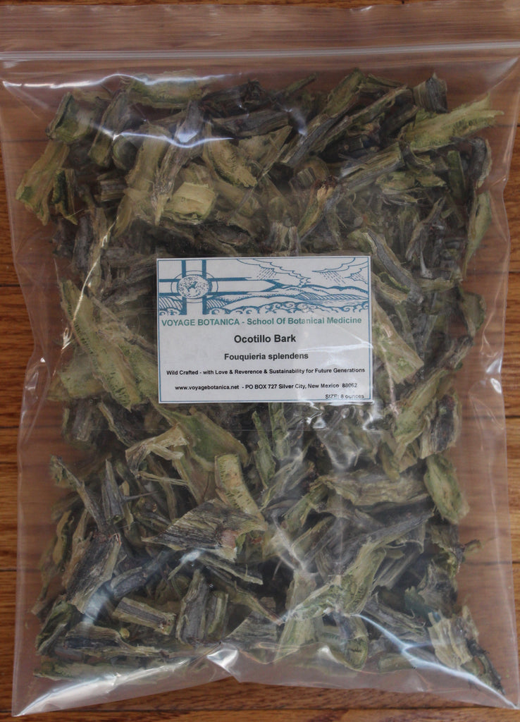 Ocotillo Bark - Fouquieria splendens - 8 Ounces - (Back Ordered but Still Can Order For Discount)