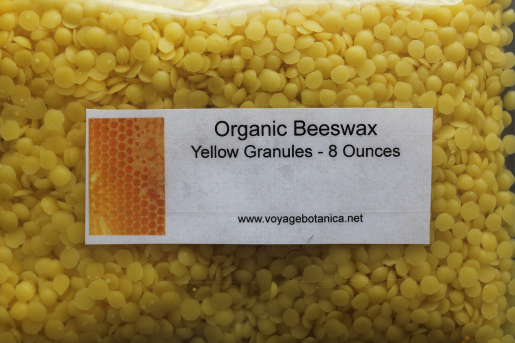 ORGANIC Beeswax - 8 ounce size