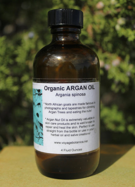 An Amazing Anti-Oxidant and Skin Rejuvenating OIl - Organic ARGAN OIL - 4 ounce size