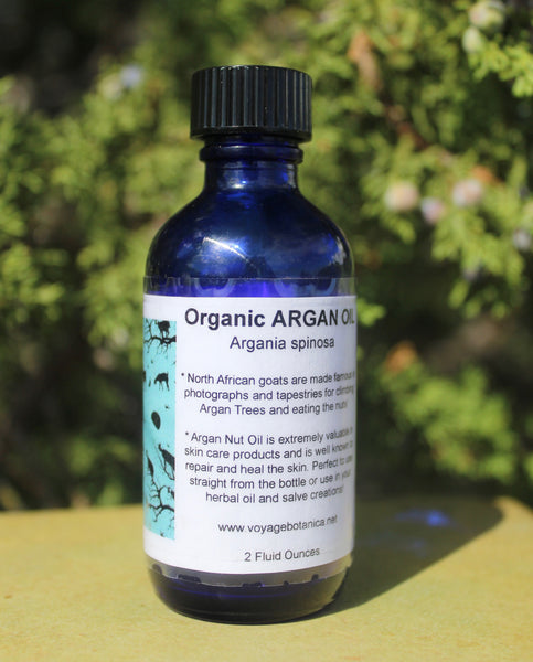 An Amazing Anti-Oxidant and Skin Rejuvenating OIl - Organic ARGAN OIL - 2 ounce size