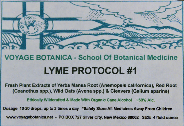 LYME PROTOCOL #1 -  Extract 4 Ounce size