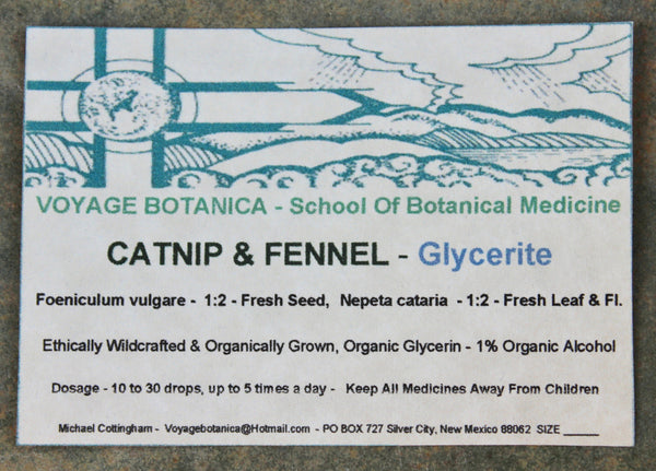 CATNIP & FENNEL Glycerin Extract -