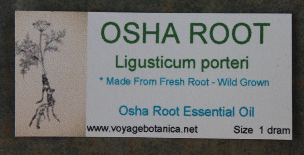 OSHA ROOT Essential Oil - Get in on the next batch, coming soon! Limited amounts!
