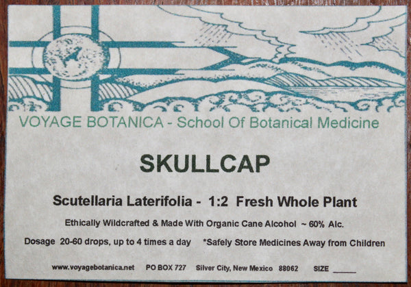 SKULLCAP Extract - 4 Ounce Size
