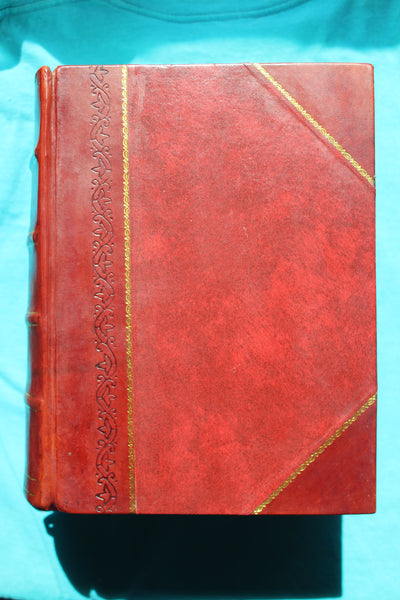The Dispensatory of the United States of America / by George B. Wood. and Franklin Bache. 1907 - Leather Bound Fabulous Modern Reprint!