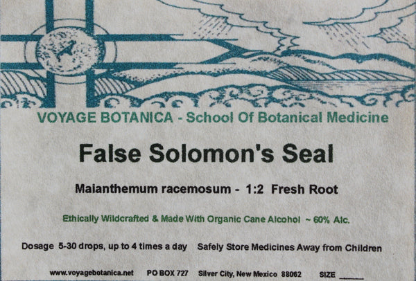 FALSE SOLOMON'S SEAL EXTRACT - Maianthemum racemosum - 4 Ounce Size   -