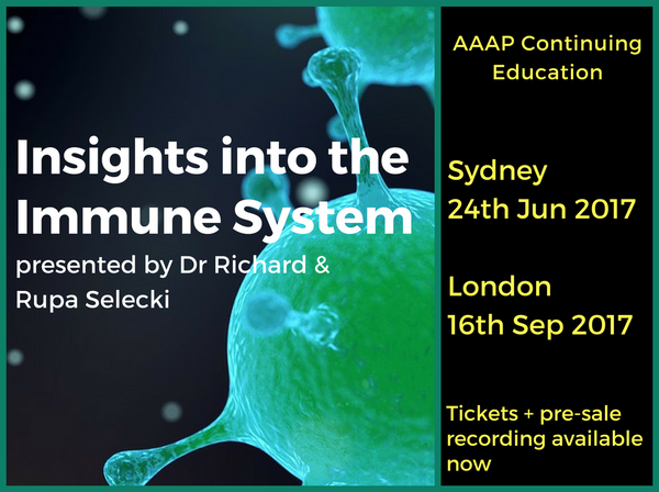 AAAP Day 'Insights into the Immune System' coming to Sydney + London!