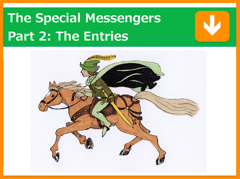 The Special Messengers Part 2: The Entries | Presented by Kevin Farrow | Filmed 12th March 2018 | 0.25 points