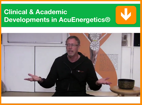 Clinical & Academic Developments in AcuEnergetics® | Presented by Kevin Farrow | Filmed 23rd August 2014 | 1 point