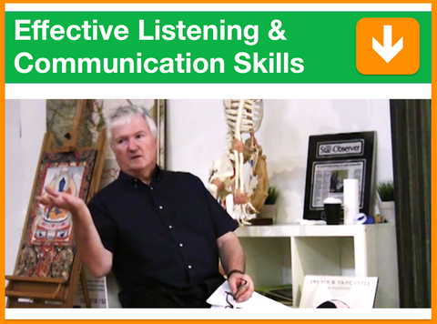Effective Listening & Communication Skills | Presented by Dr. Jon Williams | Filmed 18th April 2015