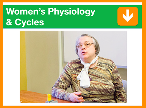 Women's Physiology and Cycles | Presented by Elisabeth Rochat de la Vallée | Filmed 29th July 2016 | 1 point