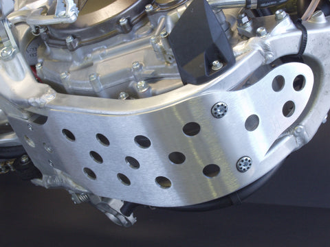 Works Connection - Yamaha - Aluminum Skid Plate - 10-265