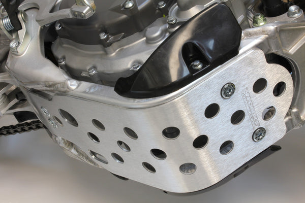 Works Connection - Suzuki - Aluminum Skid Plate - 10-440