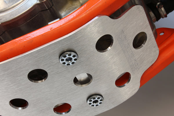 Works Connection - KTM - Aluminum Skid Plate - 10-457
