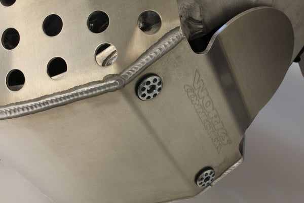 Works Connection - Yamaha - Full Coverage Aluminum Skid Plate - 10-625