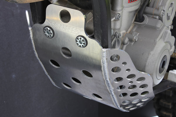 Works Connection - KTM - Full Coverage Aluminum Skid Plate - 10-635