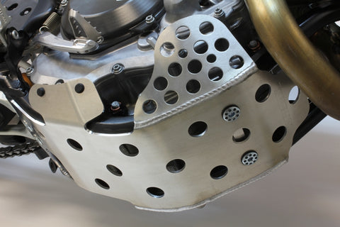 Works Connection - KTM - Full Coverage Aluminum Skid Plate - 10-657