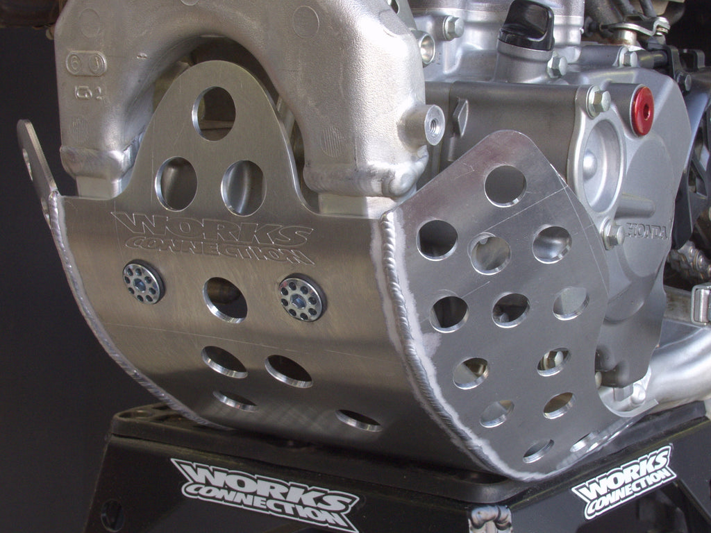 Works Connection - Honda - Full Coverage Aluminum Skid Plate - 10-676