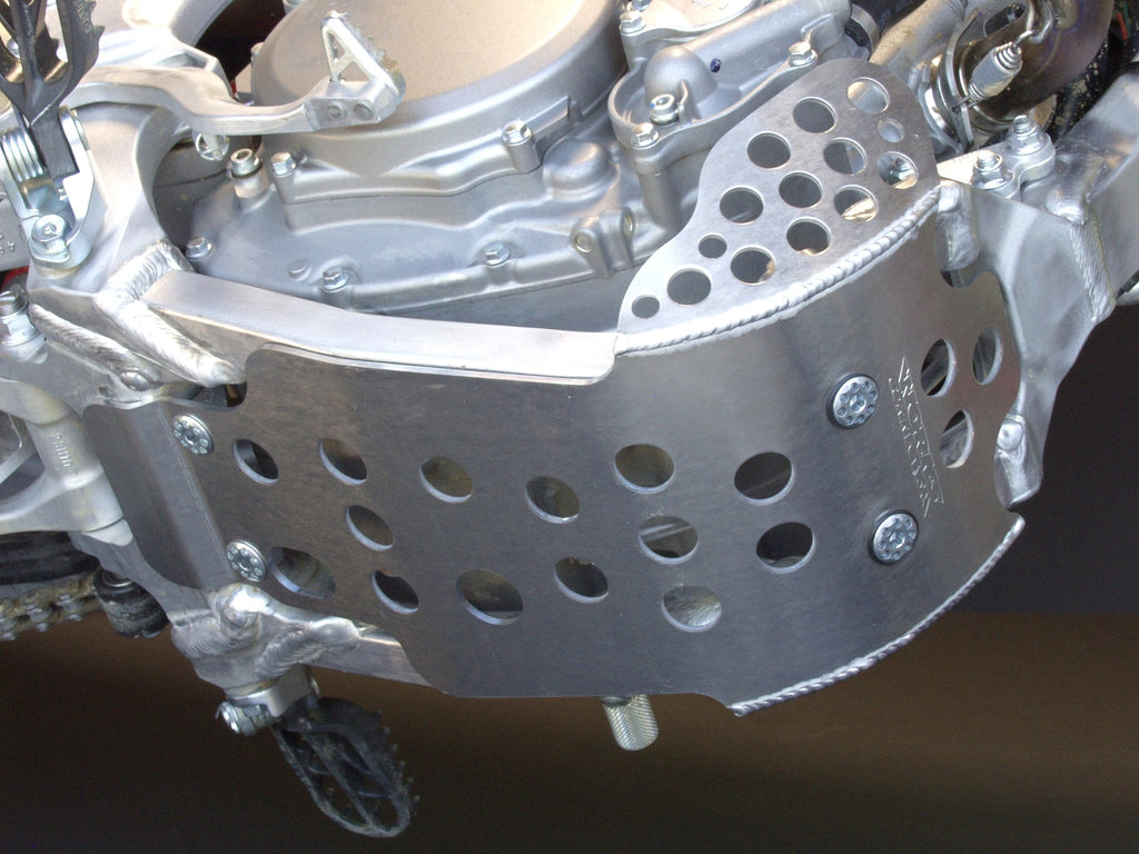 Works Connection - Suzuki - Full Coverage Aluminum Skid Plate - 10-694