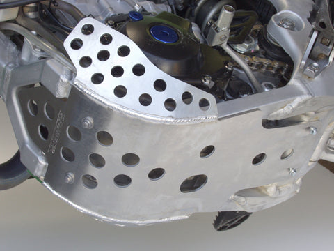 Works Connection - Kawasaki - Full Coverage Aluminum Skid Plate - 10-697