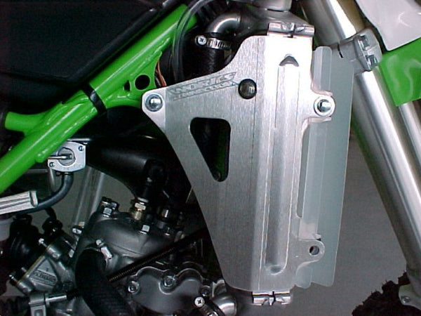Works Connection - Kawasaki - Radiator Braces - 18-045