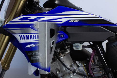 Works Connection - Yamaha - Radiator Braces - 18-126
