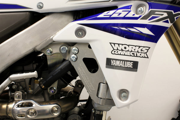 Works Connection - Yamaha - Radiator Braces - 18-179