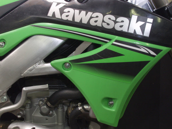Works Connection - Kawasaki - Radiator Braces - 18-297