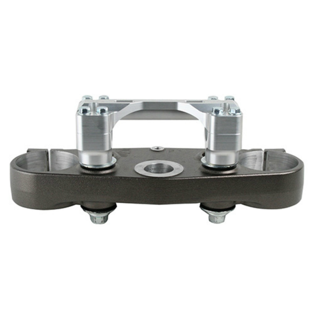 Ride Engineering - Yamaha - One Piece Oversized Replacement Bar Mount for Stock Solid Mount Triple Clamps - AF-BBM00-CA