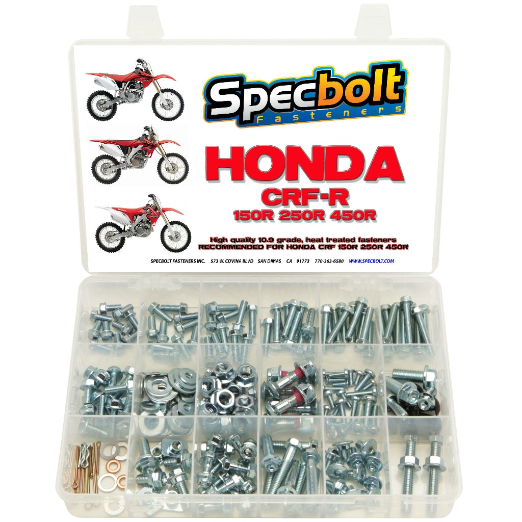 Specbolt - Honda CRF150/250/450R 250pc Bolt Kit - CRF250