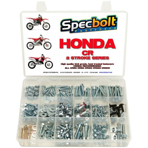 Specbolt - Honda CR 2-Stroke 250pc Bolt Kit - CR250