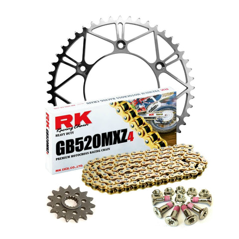 DDC - RK Chain and Lightweight Steel Sprocket Kit | DDC-HUS-RK-OB1