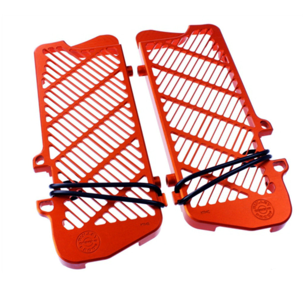 Bullet Proof Designs -  KTM Radiator Guards - MOJO-KTM-RG-08-STD