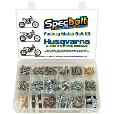 Specbolt - Husqvarna 250pc 2/4 Stroke Bolt Kit - HUS-250