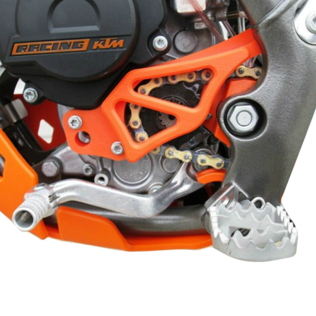 TM Designworks - KTM  65cc Sprocket Cover/Case Saver/Upper Frame Pad - ISC-065