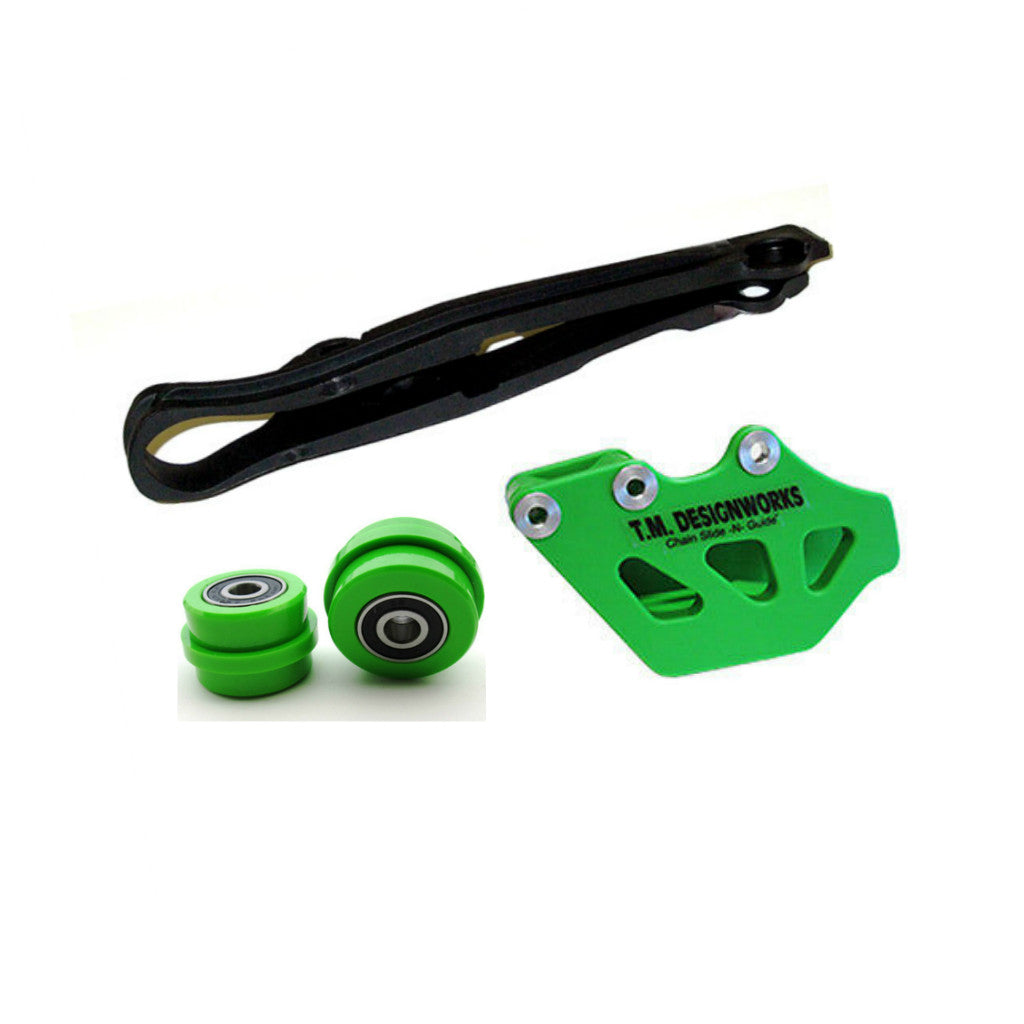 TM Designworks - Kawasaki Dirt Cross Chain Slide-N-Guide Kit - KCP-OR2