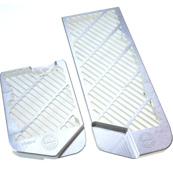Bullet Proof Designs - KTM 85/105cc Radiator Guards - MOJO-KTM-RG-0812-85-105-SIL