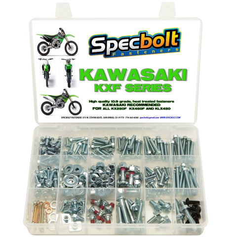 Specbolt - Kawasaki 4-Stroke 250pc Bolt Kit - KXF250