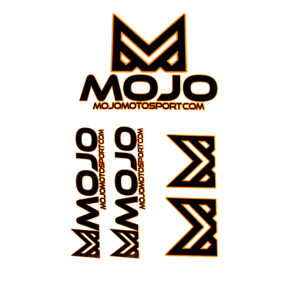 Mojo - Sticker 3 Pack  - Die Cut Stickers