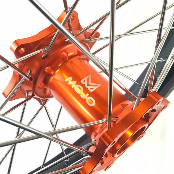 KTM Anodized Hub Wheel Set - MOJO-KTM-WS