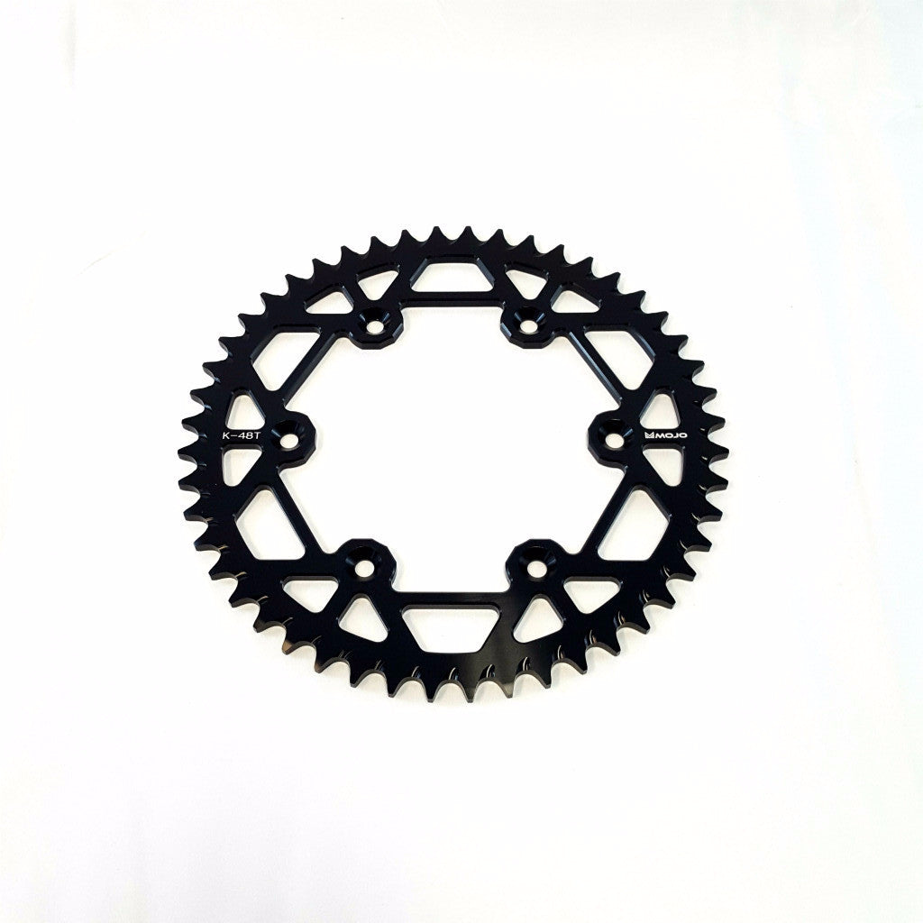 MOJO - KTM Aluminum Rear Sprocket Black